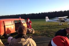 Der Nikolaus fliegt ein... 2014