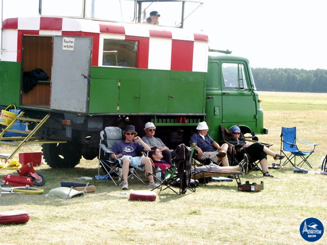 Segelfliegerlager in Neustadt-Glewe 2009