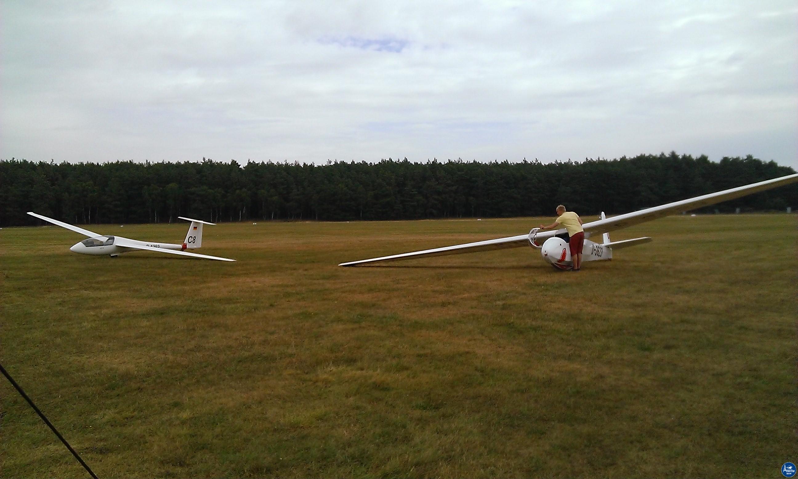 Segelfliegerlager Neustadt-Glewe 2013